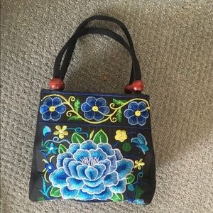 Handbags - New Embroidered Mini Satchel